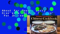 About For Books  Betty Crocker s Chinese Cookbook  For Online