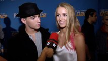 """Gino Cosculluela and Sophie Pittman Interview """"SYTYCD Season 16"""" Studio Show Round 2 Red Carpet"""