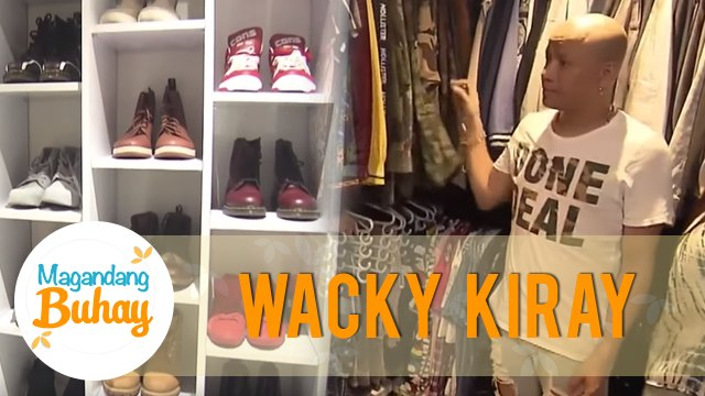 Wacky Kiray's shoe collection & walk-in closet | Magandang Buhay