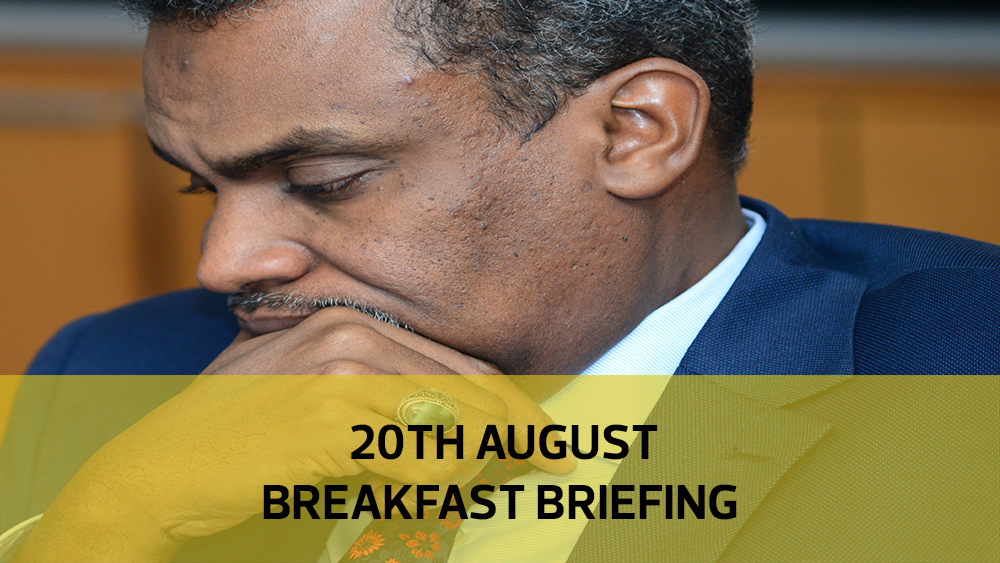 DPP'S graft headache | Magistrates perform best | Sanitary pads cash query: Your Breakfast Briefing