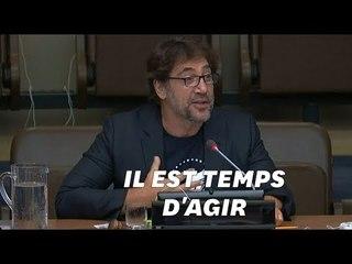 Javier Bardem a réclamé un traité mondial pour protéger les océans au siège de l'ONU