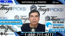 Nationals Pirates MLB Pick 8/20/2019