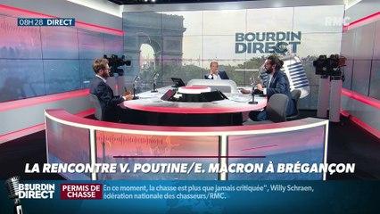 Président Magnien ! : Retour sur la rencontre Poutine/Macron à Brégançon - 20/08