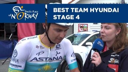 Best Team Hyundai - Stage 4 - Arctic Race of Norway 2019