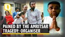 Amritsar Tragedy: Dussehra Event Organiser Breaks Down in a Video Message