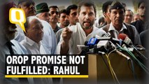 Rahul Gandhi: If Voted to Power, Congress Will Fulfil OROP Commitments