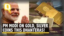You Can Buy Gold and Silver Coins with PM Modi's face engraved, this Dhanteras!