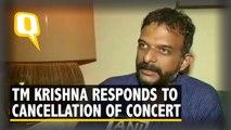 Carnatic Singer TM Krishna Responds to the Urban Naxal Remark