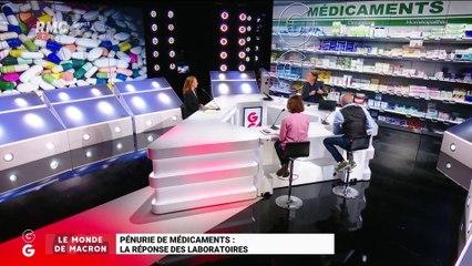 Le monde de Macron: La réponse des laboratoires sur la pénurie de médicaments - 20/08
