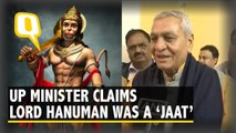 UP Minister Now Claims Lord Hanuman Was 'Jaat'