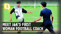 Meet Nadia Nighat, the First Woman Football Coach of J&K