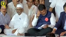 Social activist and anti-corruption crusader Anna Hazare ended his hunger strike after seven days following assurances from the government on the Lokpal and Lokayukta issues