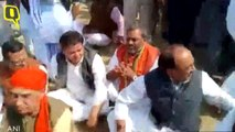 BJP Leaders Face Anger in Meerut For Wearing Shoes At Pulwama Martyr's Funeral