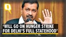 Delhi CM to Go on 'Indefinite Fast' to Demand Full Statehood