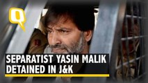 Separatist Yasin Malik Detained, Additional Security Rushed to J&K
