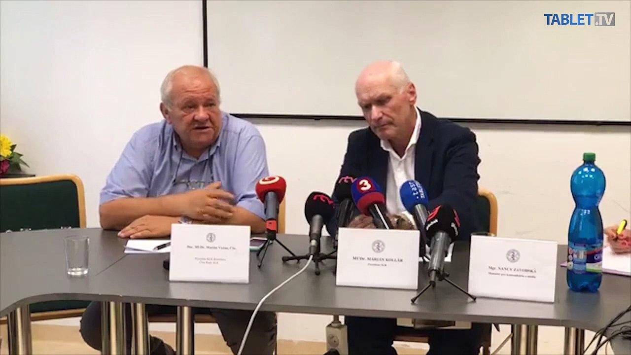 ZÁZNAM: Mimoriadna TK Slovenskej lekárskej komory