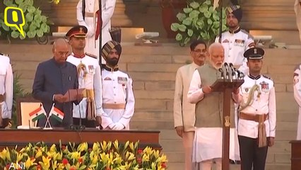 Narendra Modi Takes Oath As Prime Minister For a Second Term