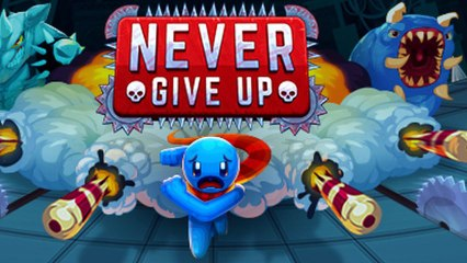 Never Give Up — A Hardcore Platformer {60 FPS} PC GamePlay