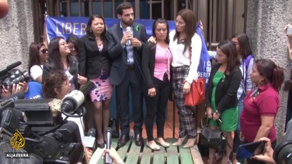 Salvadoran rape victim jailed for stillbirth not guilty of murder