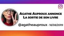 Agathe Auproux : un livre pour parler de son combat contre le cancer