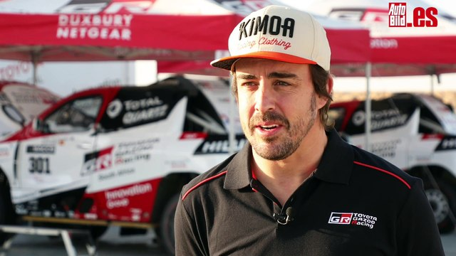 Declaraciones de Alonso sobre su posible participación en el Dakar 2020 con Toyota