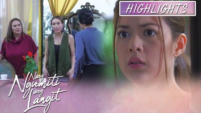 Grace overhears Katrina and Divina's conversation | Nang Ngumiti Ang Langit