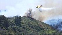 De nouvelles images des feux qui ravagent l'île de Grande Canarie depuis 4 jours