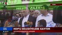 HDP Eş Genel Başkanı Sezai Temelli Diyarbakır'da kayyım atamalarına ilişkin açıklama yaptı