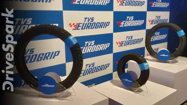 TVS Tyres Re-Branded As TVS Eurogrip; Launches New Performance Tyres