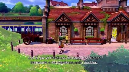Pokémon Espada y Escudo - Nuevo tráiler