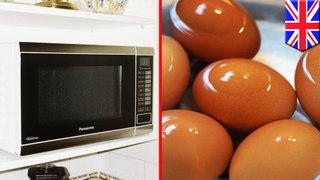 Telur meledak pada wajah wanita setelah dimasak dengan microwave - TomoNews