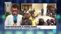 Contestation à Hong Kong : Carrie Lam refuse toujours les revendications de la rue