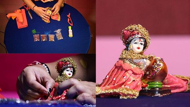Bal Gopal Clothes DIY : Krishna Janmashtami पर बिना सूई धागे के बनाएं कान्हा के वस्त्र | Boldsky