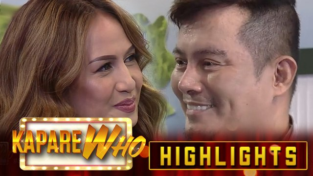 If The Feeling is Gown chooses Greatest Love Of Oil as her KapareWHO | It's Showtime KapareWHO