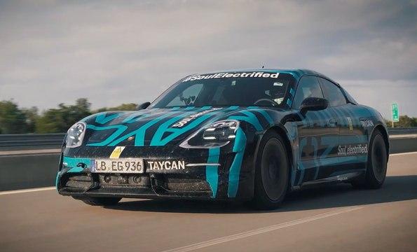 VÍDEO: El Porsche Taycan bate a Tesla, recorre 3.425 km en 24 horas