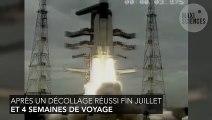 La sonde lunaire indienne arrive en orbite de notre satellite