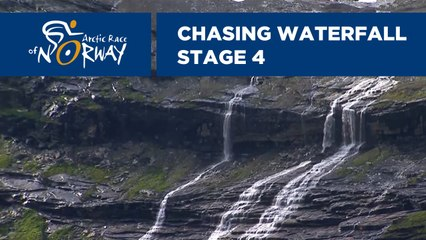 Chasing waterfall - Stage 4 - Arctic Race of Norway 2019