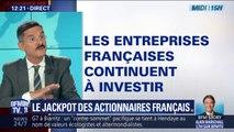Le jackpot des actionnaires des entreprises françaises