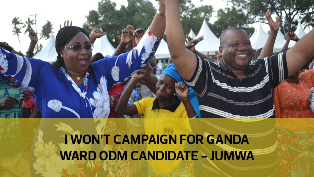 I won't campaign for Ganda Ward ODM candidate - Jumwa