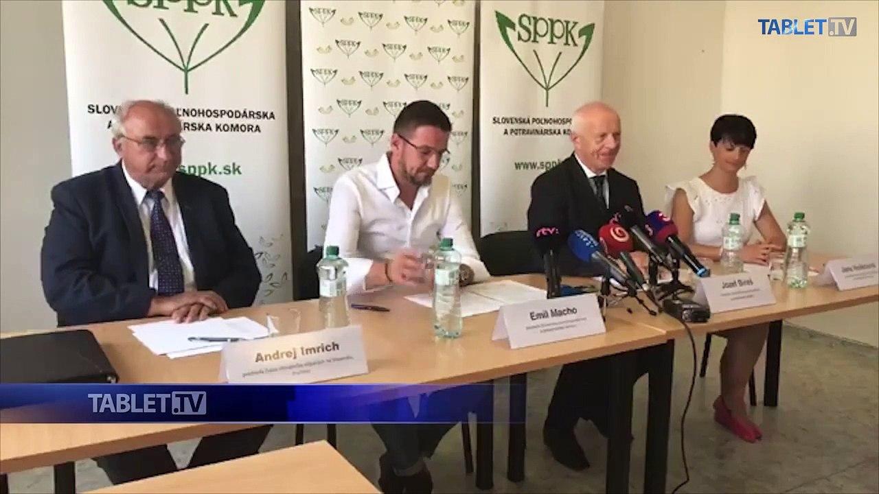 ZÁZNAM: TK Slovenskej poľnohospodárskej a potravinárskej komory
