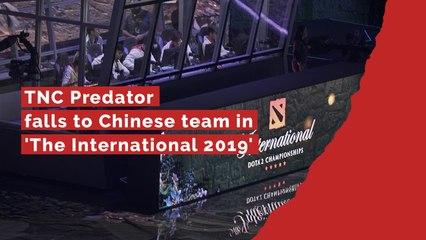 TNC Predator falls short against Chinese team