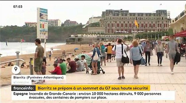 Les inquiétudes sur la sécurité du G7 à Biarritz