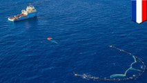 Ocean Cleanup redesigns its plastic-catching barriers