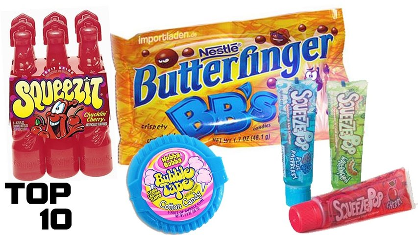 Top 10 Discontinued Candy We All Miss – Part 2