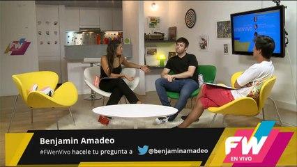 FWenVivo #15 Entrevista a Benja Amadeo y Joe Fernández