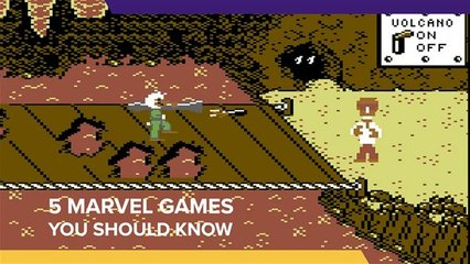 5 Marvel Games You Should Know