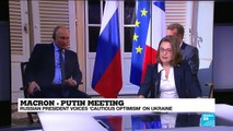 """Macron-Putin meeting: """"For France there is an important stake with regularizing relations with Russia"""""""
