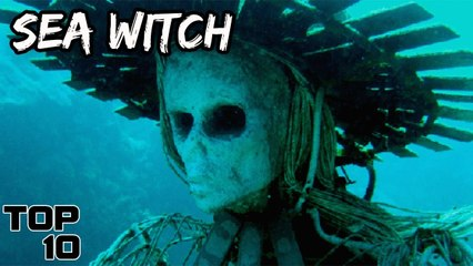top 10 scary things found underwater