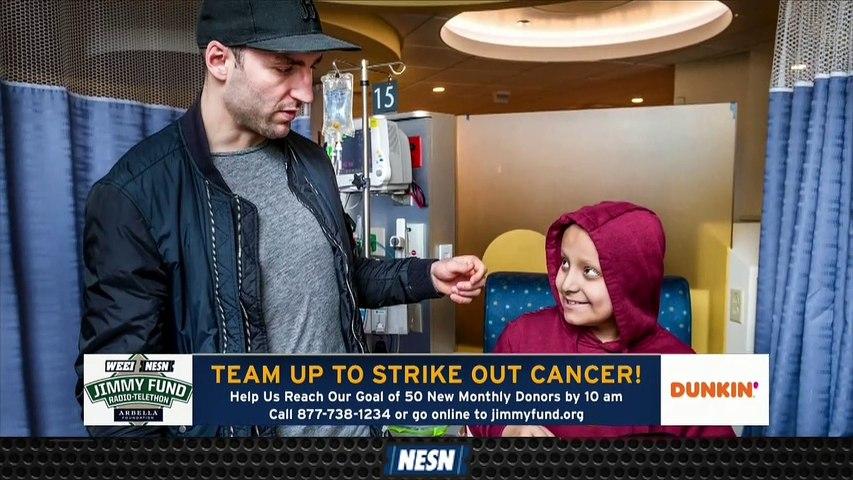 Tuukka Rask On Stanley Cup Run, Jimmy Fund Initiative
