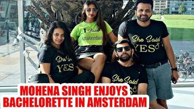 Yeh Rishta Kya Kehlata Hai actress Mohena Singh enjoys bachelorette in Amsterdam